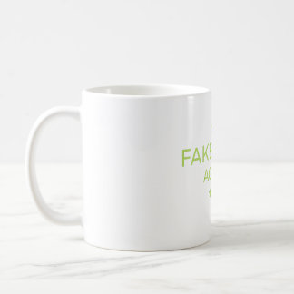 Fake News Agency Golden Reporter Coffee Mug