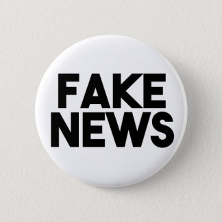 Fake News fashionable Post Truth 2 Inch Round Button