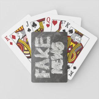 Fake News Playing Cards