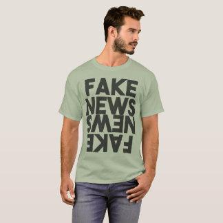 Fake News Post Truth Mirror T-Shirt