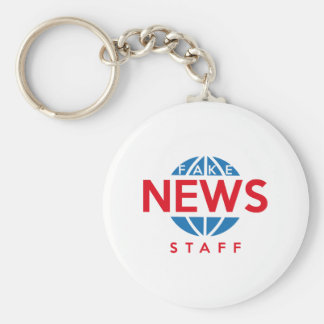 Fake News Staff Keychain