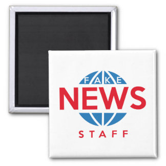 Fake News Staff Magnet