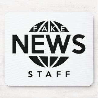Fake News Staff Mouse Pad