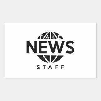 Fake News Staff Sticker