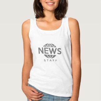 Fake News Staff Tank Top