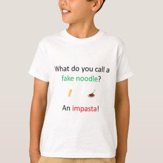 Fake Noodle Joke T-Shirt
