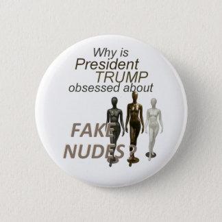 Fake NUDES News 2 Inch Round Button