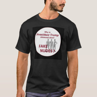 Fake Nudes News T-Shirt
