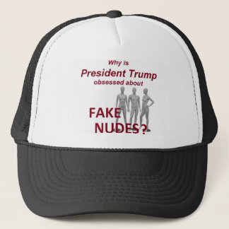 Fake NUDES News Trucker Hat