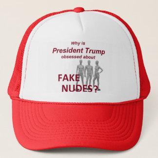 Fake NUDES News Trucker Hat