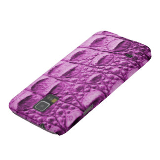 Fake pink croc skin case for galaxy s5