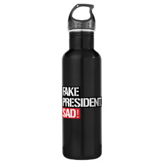 FAKE PRESIDENT SAD - 710 ML WATER BOTTLE