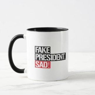 FAKE PRESIDENT SAD - MUG