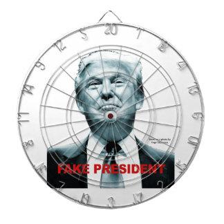 Fake President (Trump) Dartboard