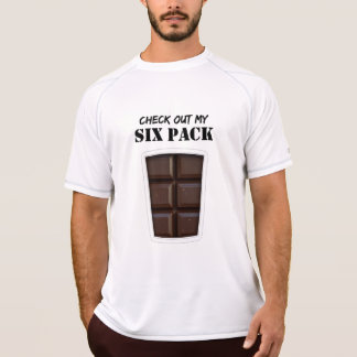 Fake Six Pack Abs (Chocolate) T-Shirt