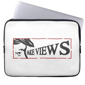 fake views laptop sleeve