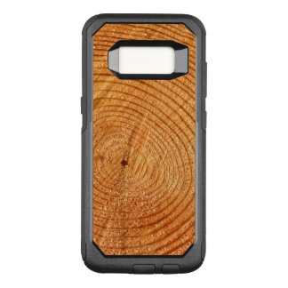 Fake Wood Look Nature Design OtterBox Commuter Samsung Galaxy S8 Case
