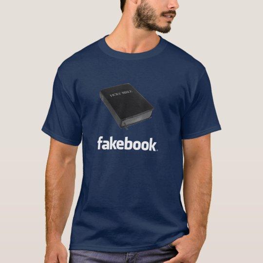Fakebook logo T-Shirt