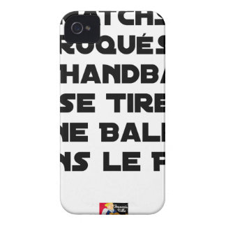 FAKED MATCHES, HANDBALL SE DRAWS A BALL IN iPhone 4 CASE