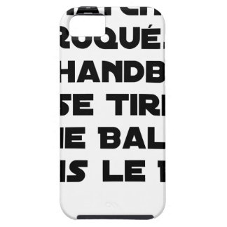 FAKED MATCHES, HANDBALL SE DRAWS A BALL IN iPhone 5 CASES