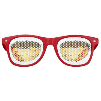 Falafel Pita Sandwich Food Foodie Party Favors Retro Sunglasses