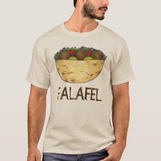 Falafel Pita Sandwich Mediterranean Food Tee