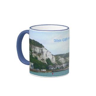 Falaises blanches tasse de souvenir de Douvres, An