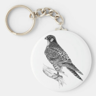 Falcon 5.7 cm Basic Button Key Ring