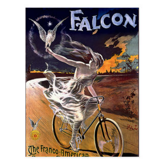Falcon Bicycle Postcard