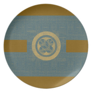 Falcon Feather Crest Dinner Plates