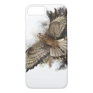Falcon in flight iPhone 8/7 case