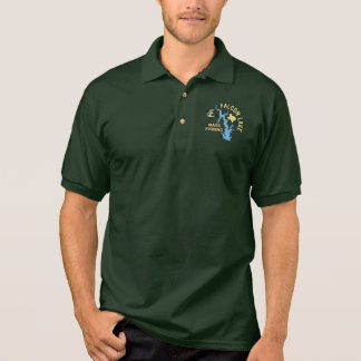 Falcon Lake Bass Fishing Polo Shirt