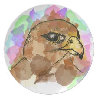 Falcon Party Plates