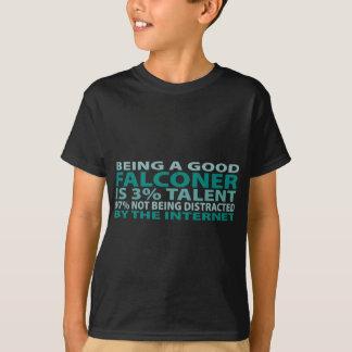 Falconer 3% Talent T-Shirt