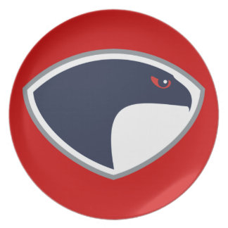 Falcons Party Plate