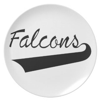 Falcons Plate