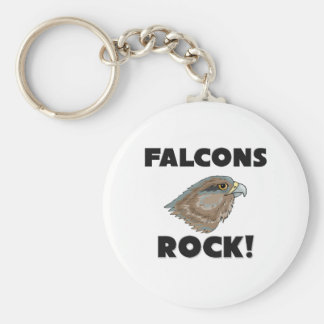 Falcons Rock Keychain