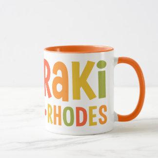 Faliraki Rhodes custom name mugs