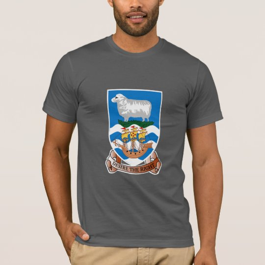 Falkland Islander coat of arms T-Shirt