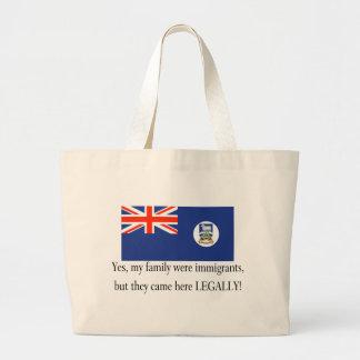 Falkland Islands Canvas Bag