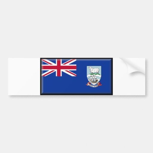 Falkland Islands Flag Bumper Sticker