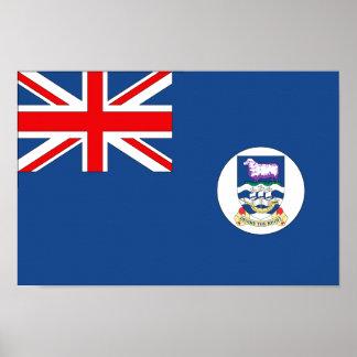 Falkland Islands Flag Poster