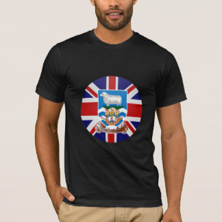 Falkland Islands quality Flag Circle T-Shirt