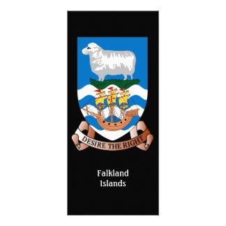 Falklands Sheep Ship Sea Flag Rack card
