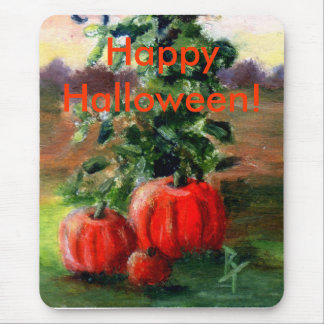 Fall aceo mouse pad