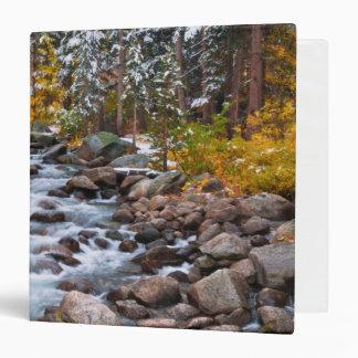 Fall along Bishop creek, California Binders