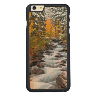 Fall along Bishop creek, California Carved Maple iPhone 6 Plus Case