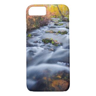 Fall along Lundy Creek, California iPhone 8/7 Case