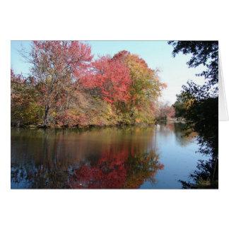 Fall Along The Creek Card
