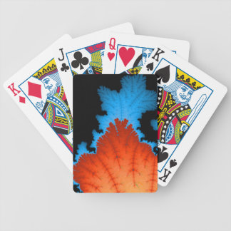 Fall And Winter Bicycle Playing Cards